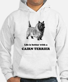 Life Is Better With A Cairn Terrier Jumper Hoody