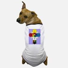 Rose Cross Dog T-Shirt