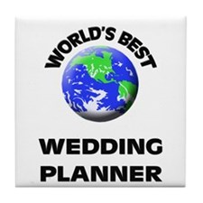 World's Best Wedding Planner Tile Coaster
