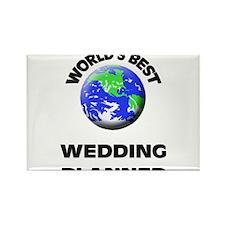World's Best Wedding Planner Rectangle Magnet