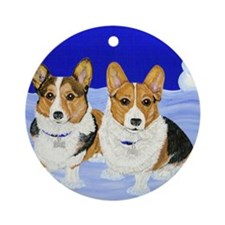 Double Trouble Ornament (Round)