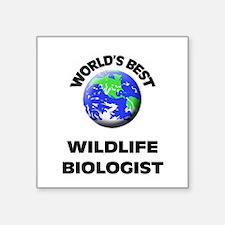 World's Best Wildlife Biologist Sticker