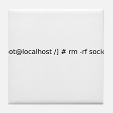 Remove Society - Root Style Tile Coaster