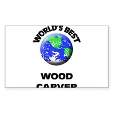 World's Best Wood Carver Decal