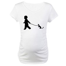 Baby and Weasel black Shirt