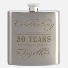 Celebrating 50 Years Together Flask