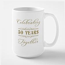 Celebrating 50 Years Together Large Mug