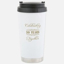 Celebrating 50 Years Together Stainless Steel Trav