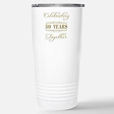 Celebrating 50 Years Together Travel Mug