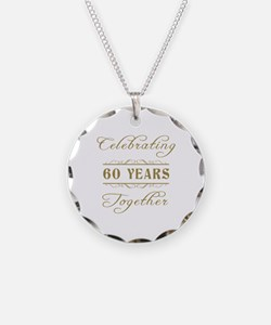 Celebrating 60 Years Together Necklace