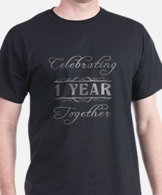 Celebrating 1 Year Together T-Shirt