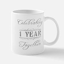 Celebrating 1 Year Together Mug