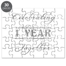 Celebrating 1 Year Together Puzzle