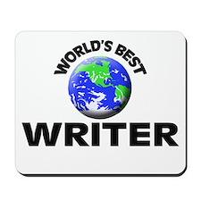World's Best Writer Mousepad