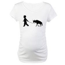 Baby and Hyena black Shirt