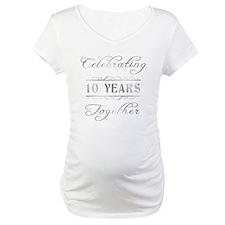 Celebrating 10 Years Together Shirt