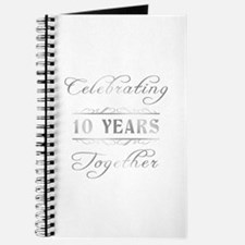 Celebrating 10 Years Together Journal