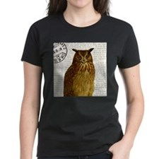Vintage French owl T-Shirt