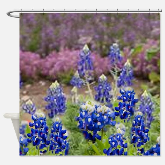 BLUEBONNET SHOWER CURTAIN Shower Curtain