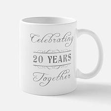 Celebrating 20 Years Together Mug