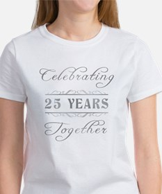 Celebrating 25 Years Together Tee