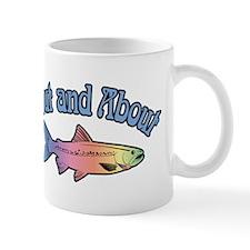 Trout Fishing Word Play Mug