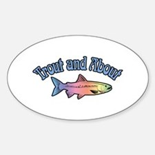 Trout Fishing Word Play Decal