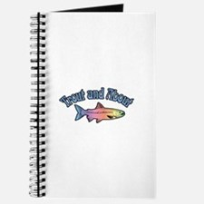 Trout Fishing Word Play Journal