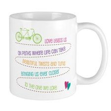 Love For Two Bicycle Mug