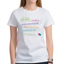 Love For Two Bicycle T-Shirt