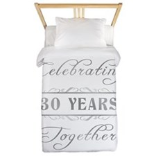 Celebrating 30 Years Together Twin Duvet