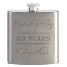 Celebrating 30 Years Together Flask