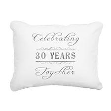 Celebrating 30 Years Together Rectangular Canvas P