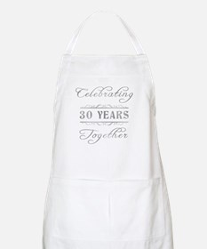 Celebrating 30 Years Together Apron