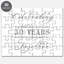 Celebrating 30 Years Together Puzzle