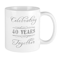 Celebrating 40 Years Together Mug