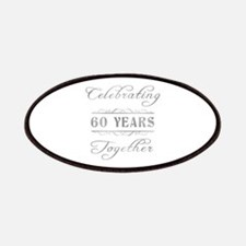Celebrating 60 Years Together Patches