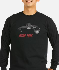 klingonfront4t Long Sleeve T-Shirt
