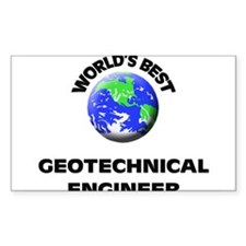World's Best Geotechnical Engineer Decal