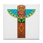 Native American Brothers Tile Coaster