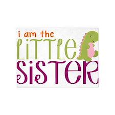 Little Sister Dinosaur 5'x7'Area Rug