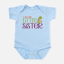 Little Sister Dinosaur Infant Bodysuit