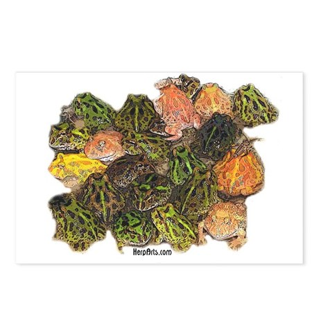 Pacman Frogs Postcards (Package of 8)