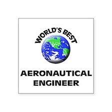 World's Best Aeronautical Engineer Sticker
