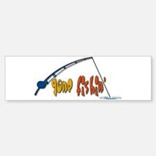 Funny Fishing Humor Bumper Bumper Sticker