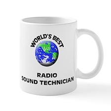 World's Best Radio Sound Technician Mug