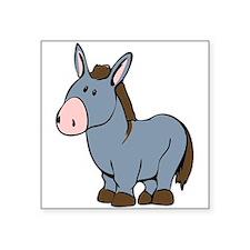 Cartoon Donkey Sticker