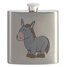 Cartoon Donkey Flask
