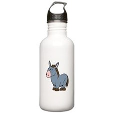 Cartoon Donkey Water Bottle