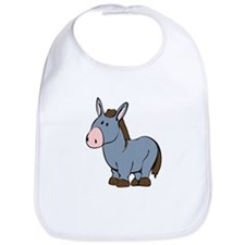 Cartoon Donkey Bib